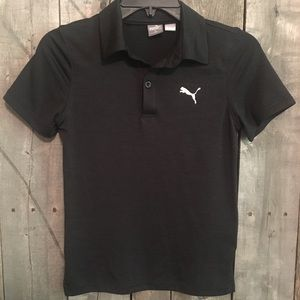 Boys Puma golf shirt, size small (8)